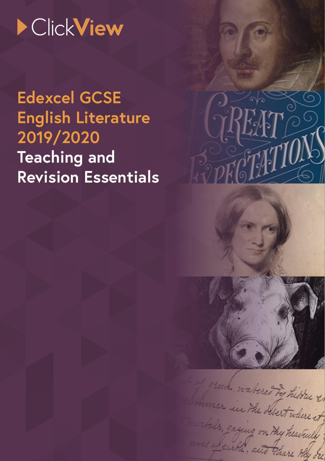Edexcel GCSE English Literature - Teaching and Revision Essentials