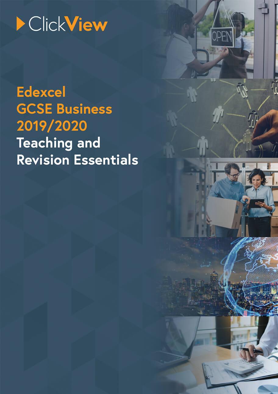 Edexcel GCSE Business - Teaching and Revision Essentials