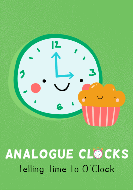 Analogue Clocks: Telling the Time to O'Clock Teacher Pack-image