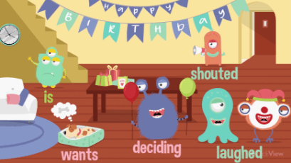 KS1 - Grammar: Verbs-video