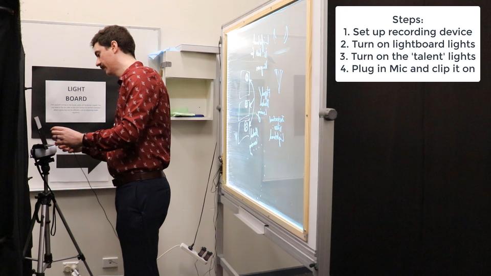 Creating Instructional Video - Online teaching resource